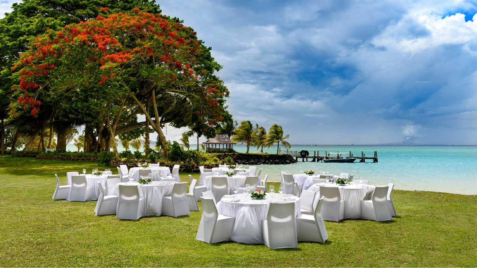 Sheraton Samoa Beach Resort - Beach Event Venue